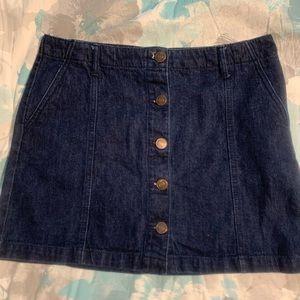 Women's Forever 21 Denim Skirt